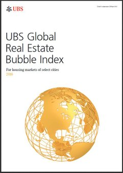 UBS Global Real Estate Bubble Index. (Image courtesy of UBS)